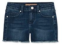 Joe's Jeans Girls' The Markie Mid-Rise Stretch Denim Shorts - Big Kid