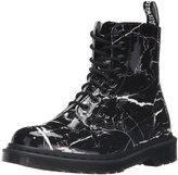 Dr. Martens Women's Pascal Patent Marble Combat Boot
