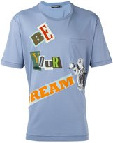 Dolce & Gabbana Be your dream patch T-shirt