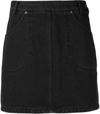 Kenzo High-Waisted Denim Skirt