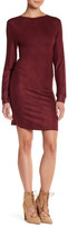 Go Couture Long Sleeve Low V-Back Dress