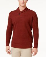 Tasso Elba Men's Big and Tall Heather Shawl-Collar Sweater, Only at Macy's