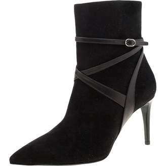 Ralph Lauren \N Black Suede Ankle boots