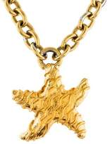 Celine Starfish Pendant Necklace