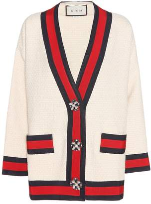 Gucci Cotton-blend cardigan
