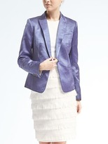 Banana Republic Heritage One-Button Blazer