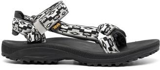 Teva Woven-Pattern Sandals
