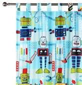 NEW Happy Kids Robot Workshop Glow in the Dark Curtain