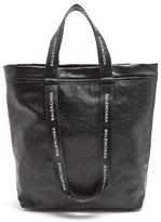 Balenciaga Carry Tote S Leather Bag