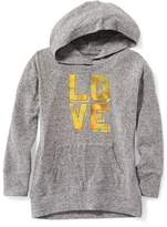 Old Navy Relaxed Brushed-Knit Hoodie for Girls