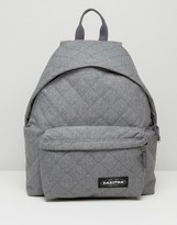 Eastpak Quilted Gray Backpack