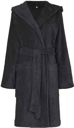 Tekla Hooded Organic Cotton Robe