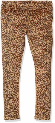 Name It Girl's Nmfhthea Twiatinna AOP Legging Bn Trouser