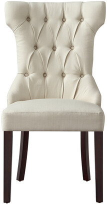 INSPIRED HOME Set Of 2 Morgan Linen Dining Chair
