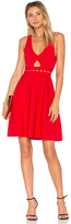 KENDALL + KYLIE Pointelle Open Back Dress in Red. - size S (also in XS,M)