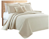 Sherry Kline Out of the Box 3-piece Embroidered Quilt Set, Cream, Quee