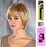 Madison by Henry Margu, Wig Galaxy Hair Loss Booklet & Magic Wig Styling Comb/Metal Pick Combo (Bundle - 3 Items), Color Chosen: 132H