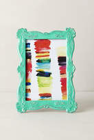 Anthropologie Scalloped Enamel Frame