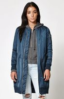 Members Only Elongated MA-1 Bomber Jacket
