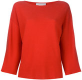 Fabiana Filippi wide neck sweatshirt - women - Cotton - 42