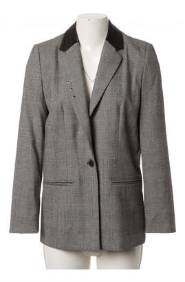 Magda Butrym Grey Wool Jackets