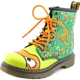 Dr. Martens Kids Mikey 1460 8 Eyelet Zip Leather Boots 3 US