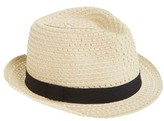 Nordstrom Women's Trilby Hat - Brown