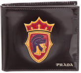 Prada Patent Leather Logo Wallet w/ Tags