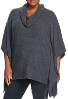 NYDJ Plus Cowl Neck Poncho