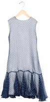 Helena Girls' Polka Dot Flounce Dress