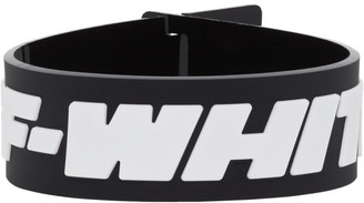 Off-White Black Industrial Bracelet