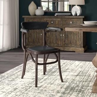 Kenny Arm Chair in Black Greyleigh