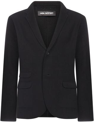 Neil Barrett Wool And Cotton Blend Knit Blazer