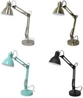 Equip Your Space Architect Desk Lamp with CFL Bulb and USB Port