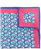 Kiton abstract print scarf