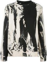 MM6 MAISON MARGIELA abstract print sweatshirt