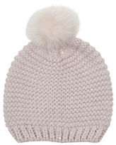 "Oasis SEQUIN BOBBLE HAT [span class=""variation_color_heading""]- Mid Neutral[/span]"