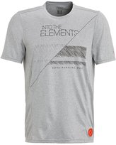 Gore Running Wear Elements Sports Shirt Melange Grey
