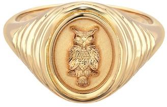 Retrouvaí Fantasy Owl Signet Ring