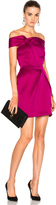 Roland Mouret Herland Double Faced Satin Dress