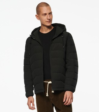 Andrew Marc Claxton Stretch Packable Down Hooded Jacket