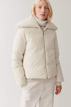 Cos CROPPED PUFFER COAT