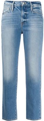 Frame Le Nouveau high-rise straight jeans