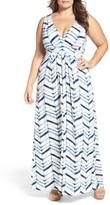 Tart Plus Size Women's Chloe Empire Waist Maxi Dress