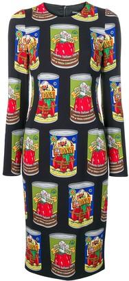 Dolce & Gabbana Graphic Print Dress