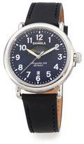 Shinola Runwell Moon Phase Stainless Steel Watch