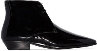 Saint Laurent Jonas 25mm ankle boots