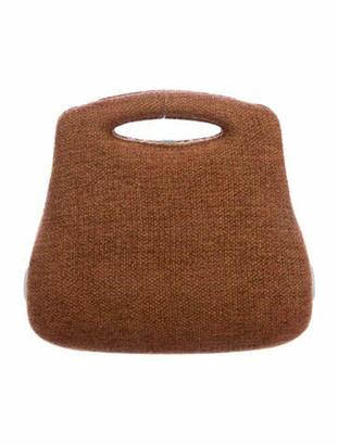 Chanel Vintage Tweed Millenium 2005 Bag Brown