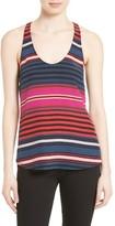 Joie Women's Drew C Stripe Silk Tank