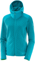 Salomon Enamel Blue Elevate Full-Zip Midlayer Jacket - Women